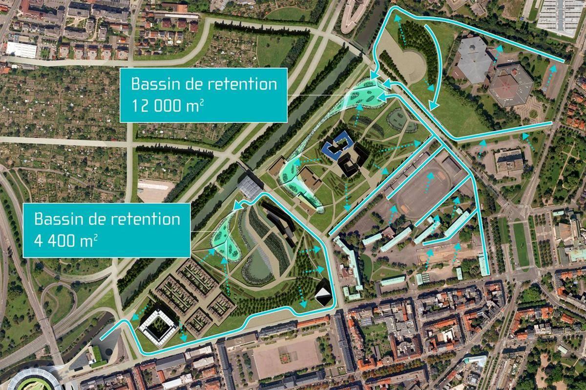 plan strasbourg ville